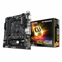 Brand New Gigabyte B450M DS3H AMD AM4 mATX Motherboard - Fre