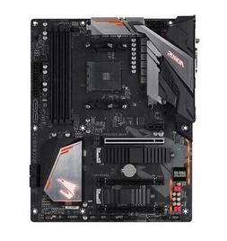 giga arous amd b450 motherboard 4 x