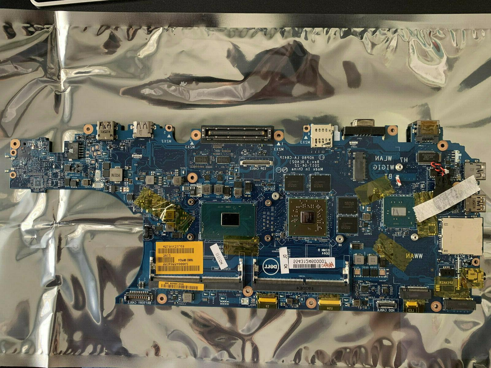 0n0d6r new latitude e5570 motherboard amd 2