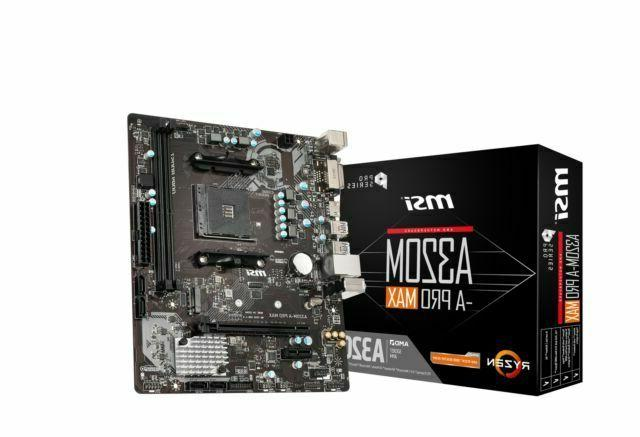 msi 239135 motherboard a320m a pro max