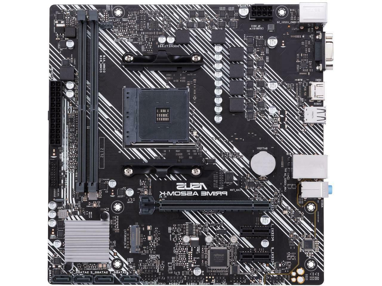 NEW AM4 AMD 6Gb/s ATX mATX Motherboard