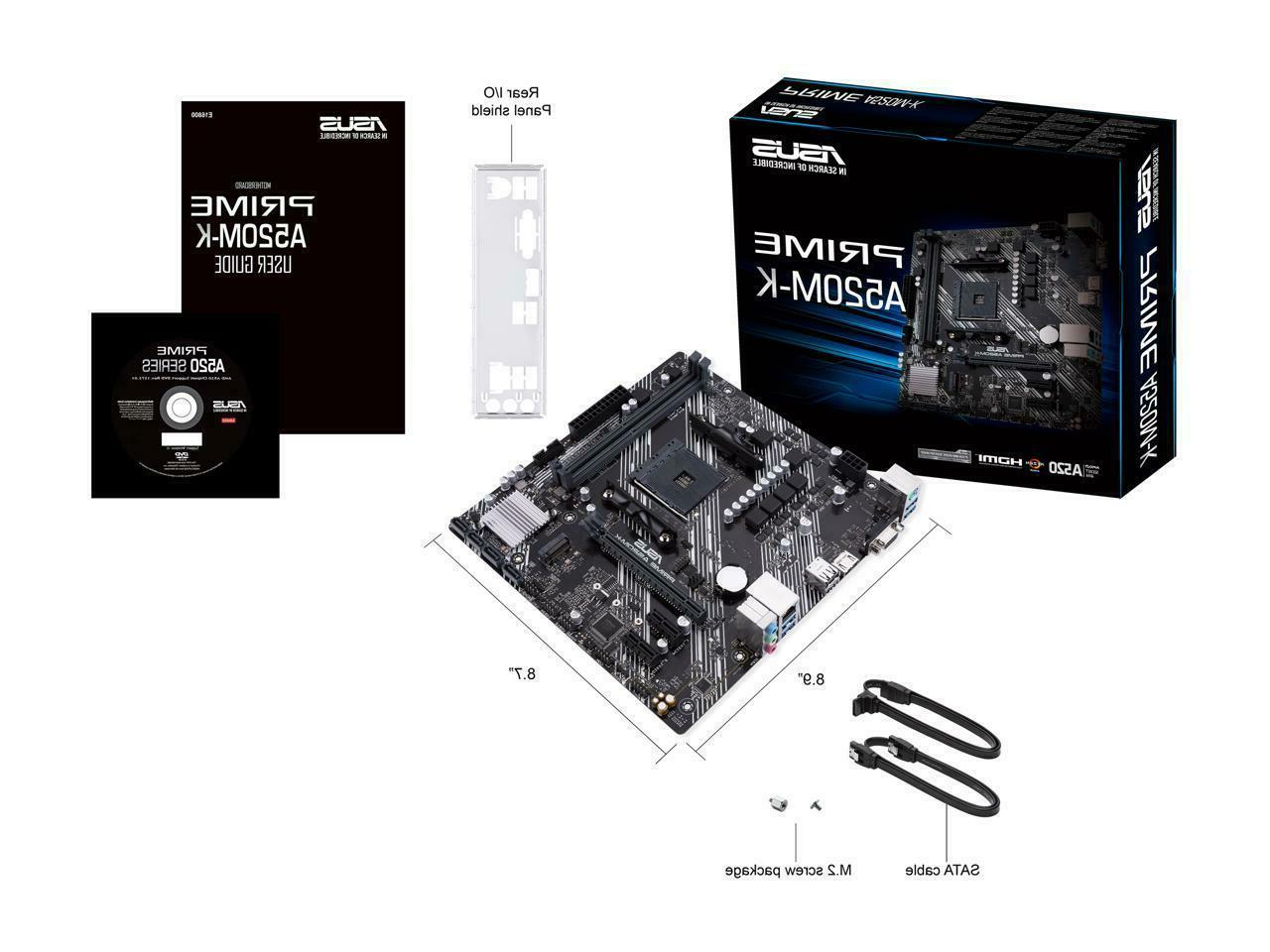 NEW AM4 Motherboard