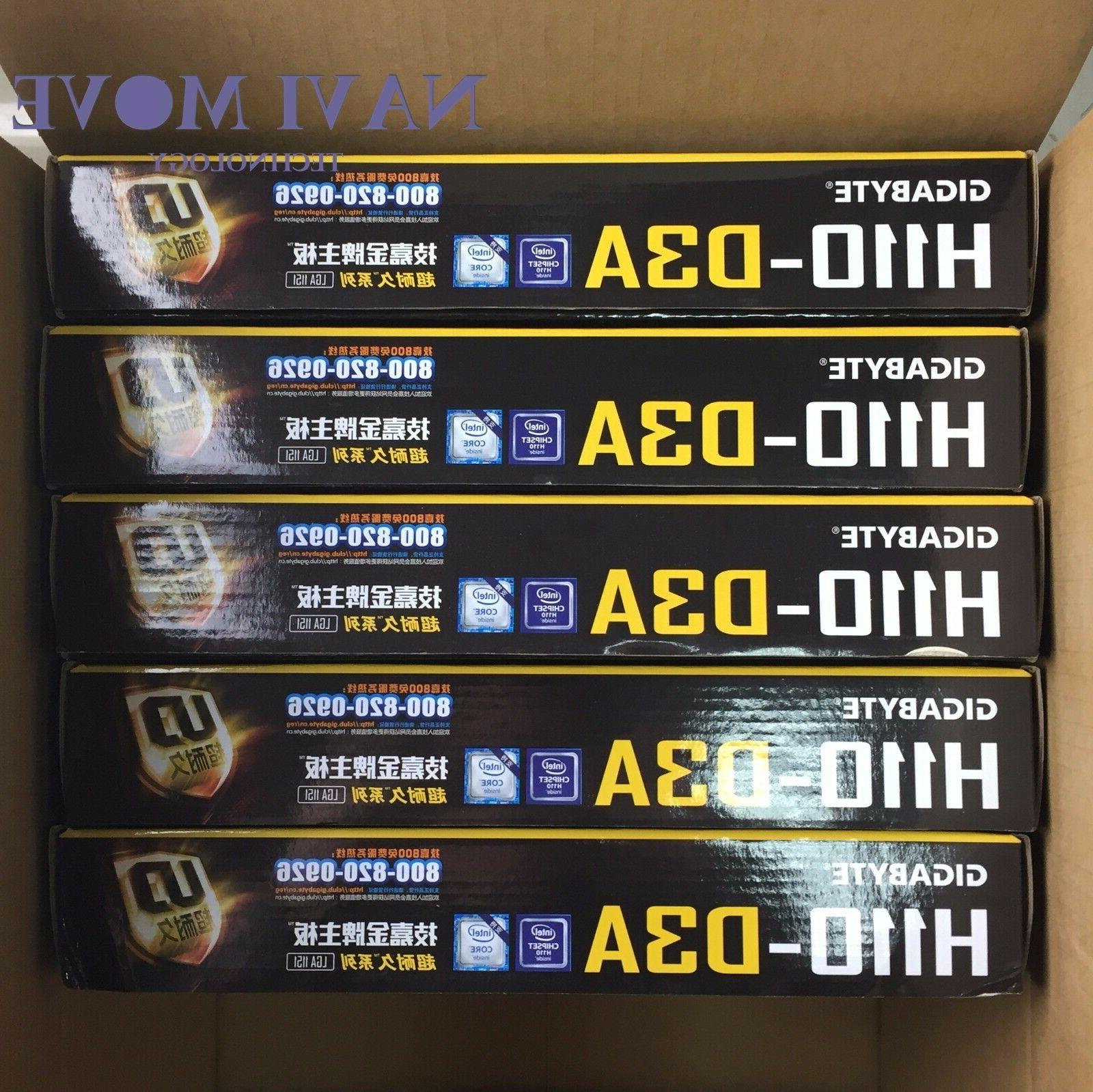 new ga h110 d3a ddr4 lga 1151