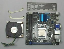 Aaeon Mini ITX Motherboard EMB-B75A Includes i3-3220 I/O 4GB