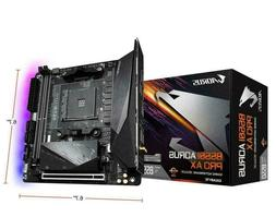 NEW GIGABYTE B550I AORUS PRO AX AM4 AMD B550 Mini-ITX Mother