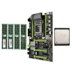 X79 Motherboard LGA2011 Combo with E5 2620 CPU 4-Ch 16GBDDR3